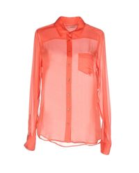 Equipment - Pink Shirts - Lyst