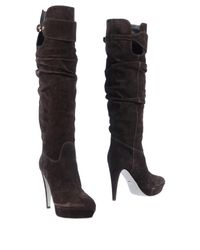 Sergio Rossi - Brown Boots - Lyst