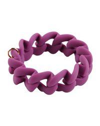 Marc By Marc Jacobs - Purple Bracelet - Lyst