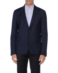Just Cavalli - Blue Blazer for Men - Lyst