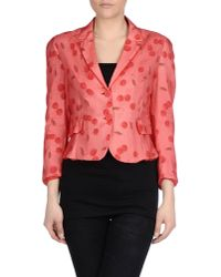 Tonello - Red Blazer - Lyst
