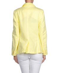 Manila Grace | Yellow Blazer | Lyst