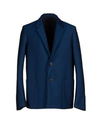 Jil Sander - Blue Blazer for Men - Lyst