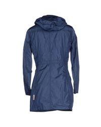Jan Mayen - Blue Down Jacket - Lyst