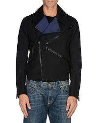 KENZO - Black Jacket for Men - Lyst