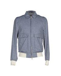 Mauro Grifoni - Blue Jacket for Men - Lyst