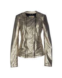 Vintage De Luxe | Metallic Jacket | Lyst