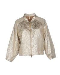 Liis Japan - Metallic Jacket - Lyst