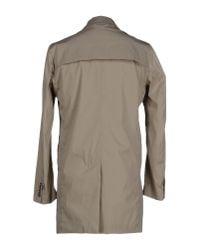 Obvious Basic - Natural Overcoat for Men - Lyst