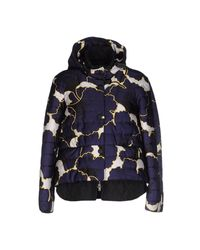 Jil Sander Navy - Blue Jacket - Lyst