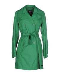 313 Tre Uno Tre - Green Full-length Jacket - Lyst