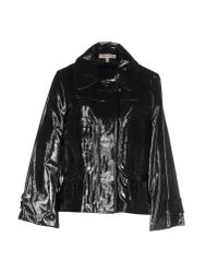 See By Chloé - Black Long-sleeved Quilted Jacket - Lyst