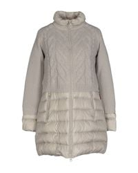Jan Mayen - Gray Down Jacket - Lyst
