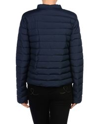 Sportmax Code - Blue Down Jacket - Lyst