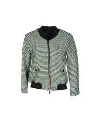 Pinko - Gray Jacket - Lyst