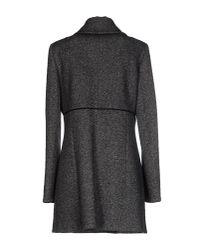 Patrizia Pepe - Gray Coat - Lyst