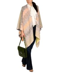 Missoni | Pink Cape | Lyst