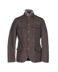 AT.P.CO - Gray Jacket for Men - Lyst