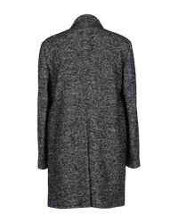 Department 5 - Gray Coat for Men - Lyst