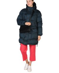 Burberry Brit | Blue Down Jacket | Lyst
