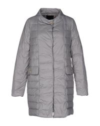Who*s Who | Gray Down Jacket | Lyst