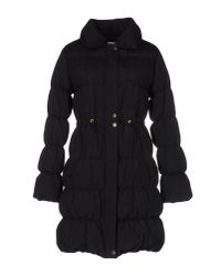Boutique Moschino   Black Down Jacket   Lyst