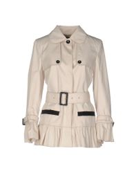 Dolce & Gabbana | Natural Overcoat | Lyst