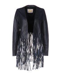 Vintage De Luxe   Blue Jacket   Lyst