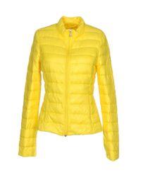 Patrizia Pepe | Yellow Down Jacket | Lyst