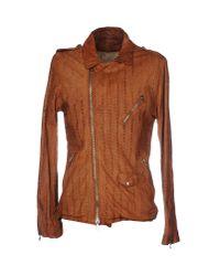 Giorgio Brato | Brown Jacket | Lyst