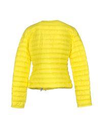 Peuterey - Yellow Down Jacket - Lyst