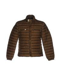 Peuterey | Green Down Jacket for Men | Lyst