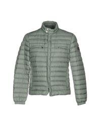 Peuterey | Gray Down Jacket for Men | Lyst