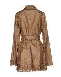 Landi - Brown Overcoat - Lyst