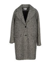 Carven   Black Coat   Lyst