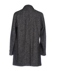 Aspesi - Gray Coat for Men - Lyst