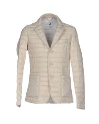 Save The Duck - Gray Jacket - Lyst