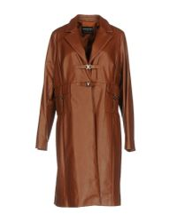 Fontana Couture | Brown Overcoat | Lyst