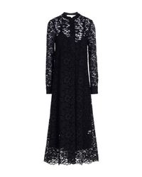 Shirtaporter - Black 3/4 Length Dress - Lyst