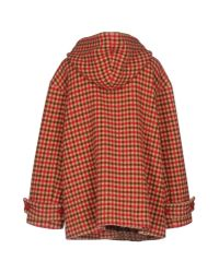 Dondup - Red Coat - Lyst