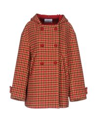 Dondup | Red Coat | Lyst