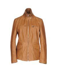 Trussardi | Brown Jacket | Lyst