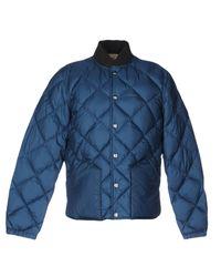 Bellerose | Blue Down Jacket for Men | Lyst