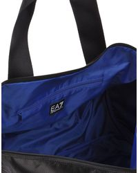 EA7 - Black Luggage for Men - Lyst