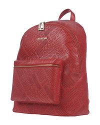 Love Moschino - Red Backpacks & Fanny Packs - Lyst