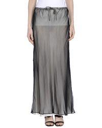 Aspesi | Gray Long Skirt | Lyst
