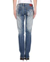 Miss Sixty - Blue Denim Pants - Lyst
