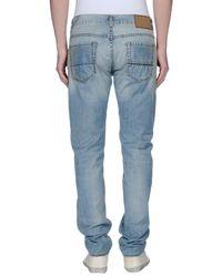 Care Label | Blue Denim Trousers for Men | Lyst