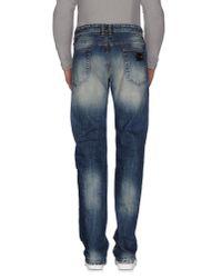 Just Cavalli - Blue Denim Pants for Men - Lyst