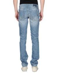 Gas - Blue Denim Trousers for Men - Lyst